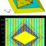 Simulations of the fabricated cloak design